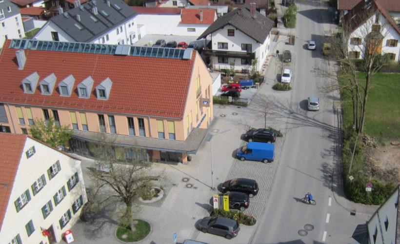 Högerstraße von oben